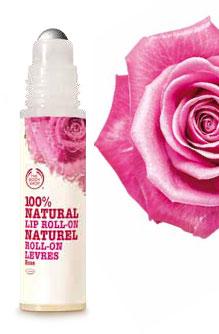 Ontvang de Natural Lip Roll-On Rose cadeau van The Body Shop