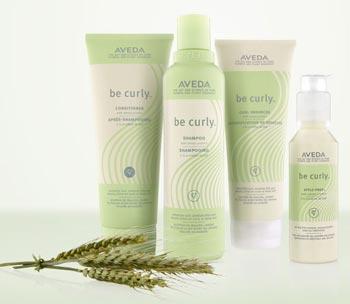 Aveda haarproduct Be Curly voor krullend haar